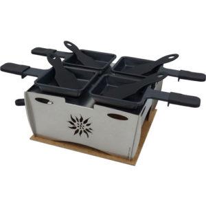 Kitraclette Raclette fahren